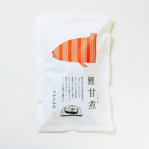 鯉の甘煮 みやさかや 山形県米沢市